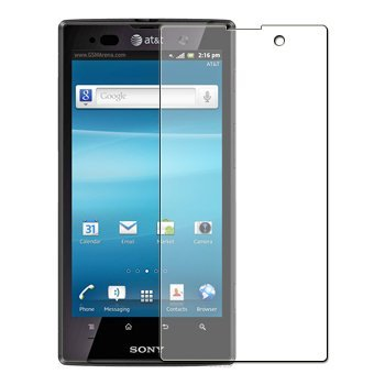 6 x Clear LCD Screen Protectors for Sony Ericsson Xperia Ion LT28i / LT28at - Anti-Scratch Guards Display Savers