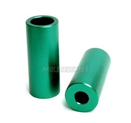 Clavijas de aluminio para patinete., verde a rayas: Amazon ...