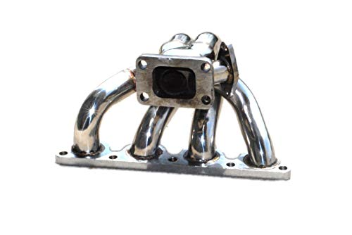 Tubular Turbo Manifold Stainless Steel fits 88-91 CRX /88-00 Civic -