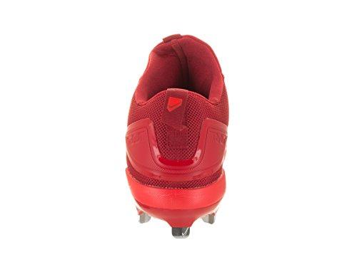 Nike Mænds Zoom Ørred 3 Baseball Klampen Rød / Hvid kUxSBi