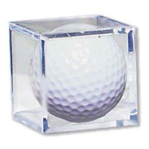 Golf Ball Display Case Memorabilia Holder -