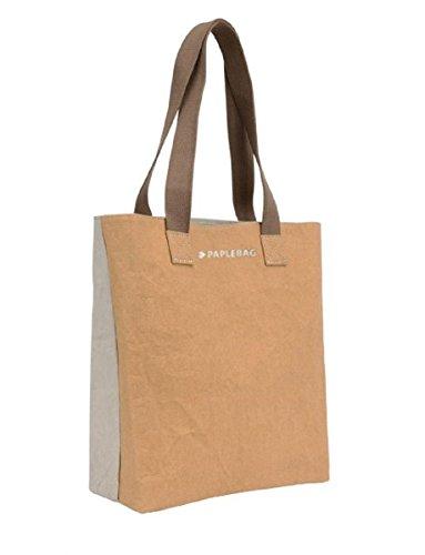 Paplebag , Sac pour femme à porter à l'épaule Stone/Sand ca B30cm x T12cm x H25cm