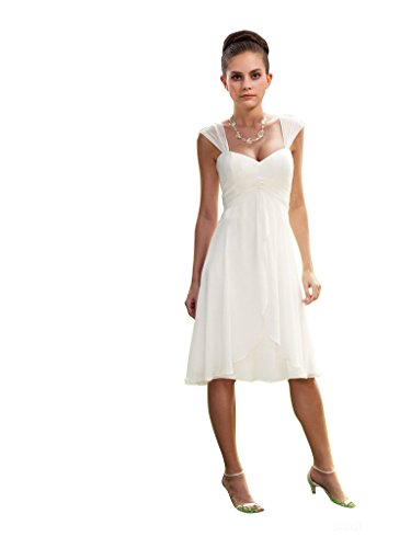 LOVEBEAUTY-Womens-Chiffon-Short-Wedding-Dress-Cocktail-Party-Dresses