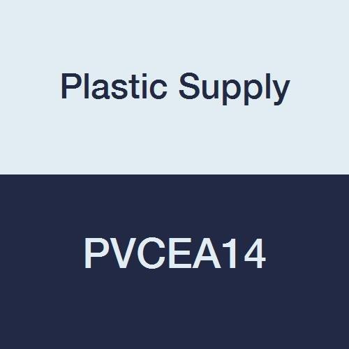 Plastic Supply PVCEA14 PVC 90 Degree Elbow, 3 Piece, 14