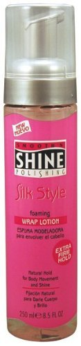 Smooth 'N Shine Polishing Silk Style Wrap Lotion, Foaming, 8.5 Ounce