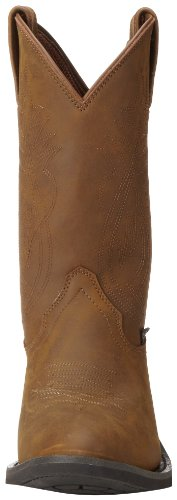 "Justin Boots Men's 3001 Farm & Ranch 11"" Boot Low Profile Round Toe Rubber Outsole,Crazy Cow,13 D US"