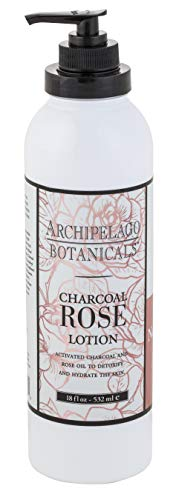 (Archipelago Charcoal Rose Lotion, 18 Fl Oz)