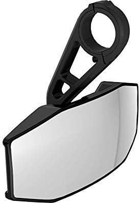 Polaris Weatherproof Convex Rear View Mirror Black
