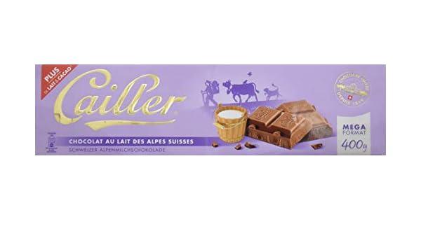 Cailler, Galleta fresca de oblea (leche de los Alpes Suizos) - 400 ...