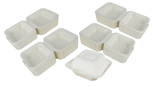 92733736df6a Amazon.com: Green Earth 6-inch, 500-Count, Compostable Clamshell ...