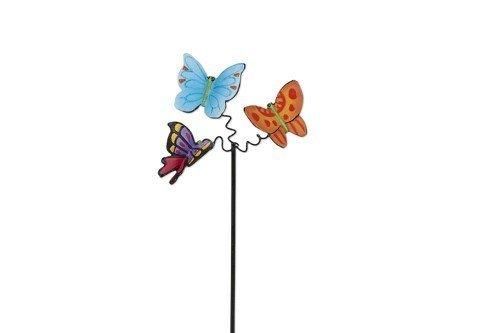 Miniature Fairy Garden Fluttering Butterflies Pick