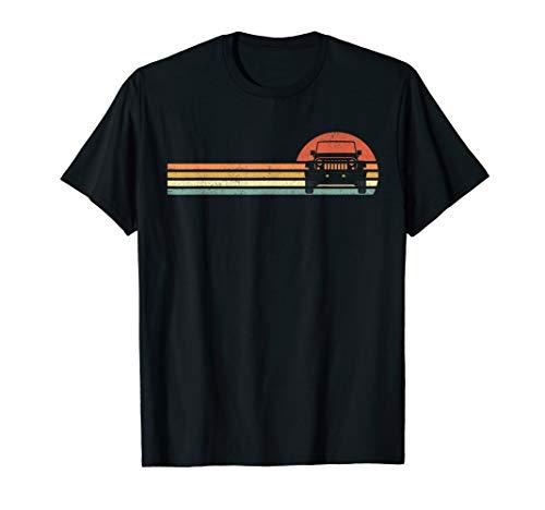 Vintage Retro Jeeps Shirt For Men Women Gift -