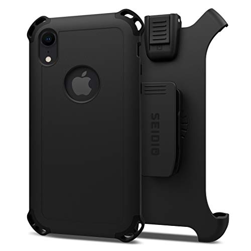 Seidio Dilex Combo for Apple iPhone Xs Max (Black/Black) ()