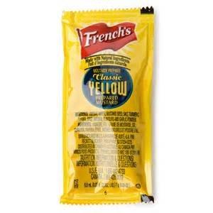 Mustard Packets | Bulk Mustard