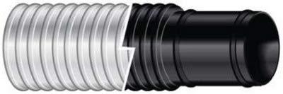 "Sierra International 116-120-1182B 1-1/8"" X 9' Bilgeflex Black Marine Hose"