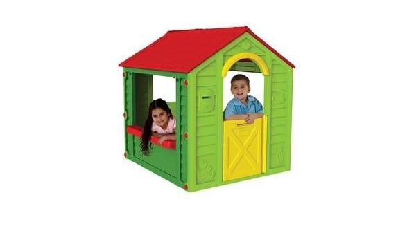 Keter - Caseta infantil, para dos niños (Curver, 223443): Amazon.es: Juguetes y juegos