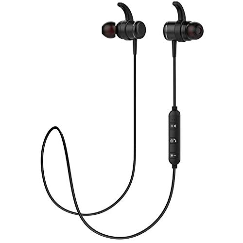 Utaxo Wireless Bluetooth Headphones Over Ear with Mic Hi-Fi Sound Deep Bass, Quick Charge
