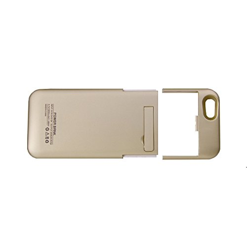 iPhone 6 Battery Case, EGOWAY iPhone 6 Battery Case (4.7 Inches) - 3200mAh External Protective iPhone 6 Charger Case / iPhone 6 Charging Case Extended Backup Battery Pack Cover Case Fit with Any Version of Apple iPhone 6, iPhone 6 Battery Pack / iPhone 6 Power Case / iPhone 6 USB Power Bank / iPhone 6 Battery Charger