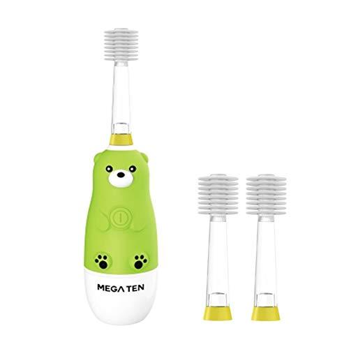 - Vivatec MEGA Ten Kids Sonic 360˚ Toothbrush - Bear + Refill Brush Head