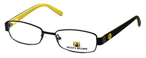 Body Glove Designer Eyeglasses BB119 in Black DEMO LENS ()
