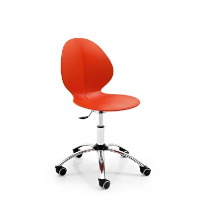 Basil Swivel Office Chair Seat Color: - Calligaris Chair Metal