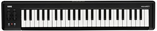 Korg microKEY2-49 - Key iOS-Powerable USB MIDI Controller with Pedal Input