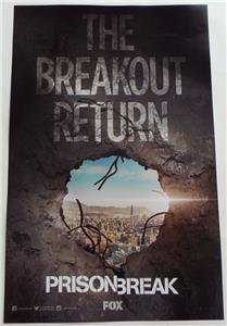 Click for larger image of SDCC 2016 EXCLUSIVE The Breakout Return PRISON BREAK Fox Poster 11 x 17
