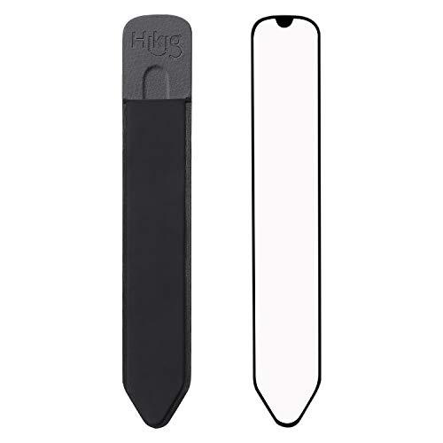 Hikig Slim Stylus Pen Holder Sticker for Stylus Pen, Apple Pencil 1st and 2nd Gen, Stylus Pens/Apple Pencil Holder for New iPad, iPad Pro, Apple Pencil Case Pocket Sticker - Black