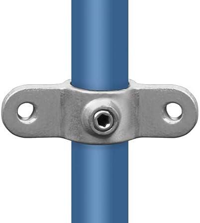 corto Tubo connettore connettore a T /Ø 21,3 fino a 60,3 mm zincato a fuoco /& galvanizzato in ghisa temperata.