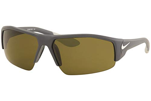 Nike EV0857-002 Skylon Ace XV Sunglasses (One Size), Matte Dark Magnet Grey/White, Max Outdoor Lens
