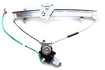 TYC 660105 Honda Civic Front Passenger Side Replacement Power Window Regulator Assembly with Motor
