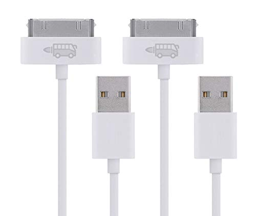 - 2x RocketBus USB Sync Charging Charger Cable Cord for Old Apple iPhone 4 s iPod 4G 4th Gen