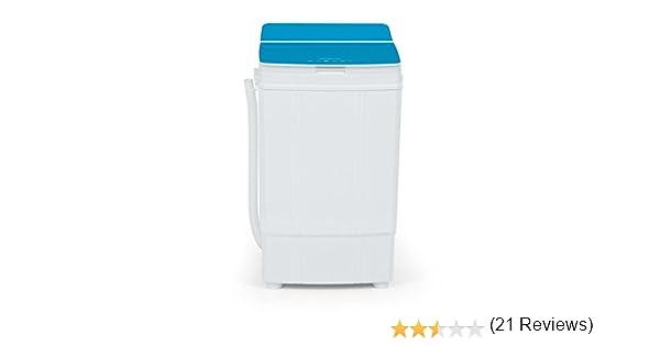 oneConcept Ecowash Deluxe 4 • Lavadora para camping • Azul: Amazon ...