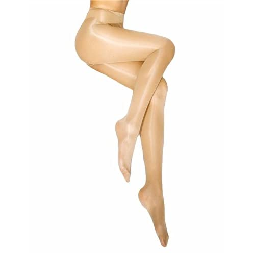 8a58ee6a68b 50%OFF Kffyeye Sheer Pantyhose High Waist Open Crotch Tights Shiny Silk  Stockings