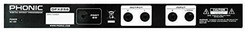 Phonic 1 Rack Unit Dual-Channel Multi-Effects Processor DFX-256