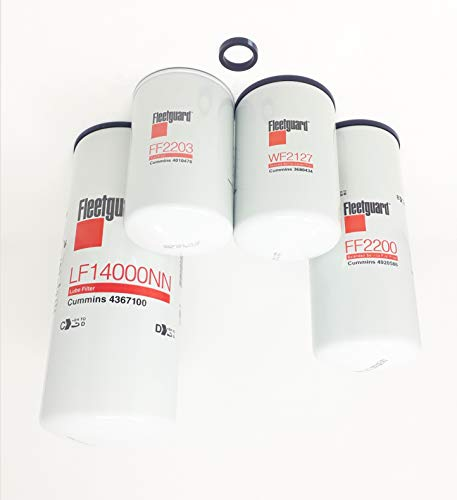 02 cummins fuel filter - 5