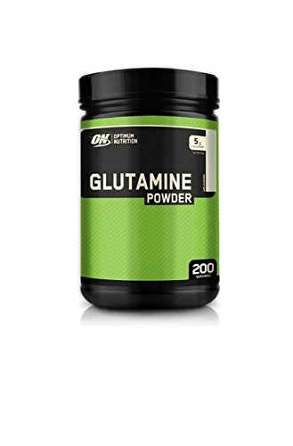 Optimum Nutrition Glutamine unflavoured servings