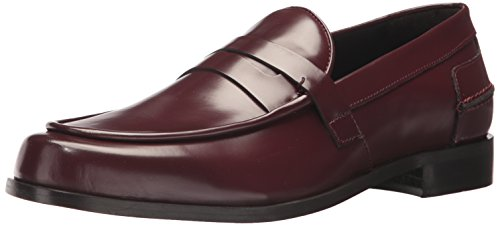 Cordovan Penny Loafer (Donald J Pliner Men's Sawyer Loafer, Cordovan Box Calf, 12 M US)