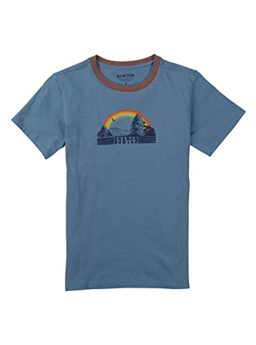 Burton Girls' Digbee Short Sleeve Tee, Blue Heaven, (Burton Blue Shirt)