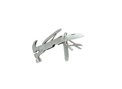 Kikkerland Set Knife - Kikkerland CD502 Multi Function Hammer Tool with Pouch