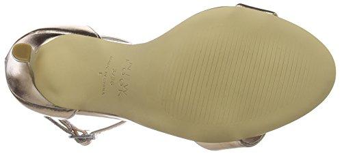 Rose Caviglia alla Cinturino con Donna Look Gold Oro Sensatory New Scarpe YqBwza1O