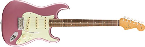 Fender Vintera '60s Stratocaster Modified - Pau Ferro Fingerboard - Burgundy Mist Metallic