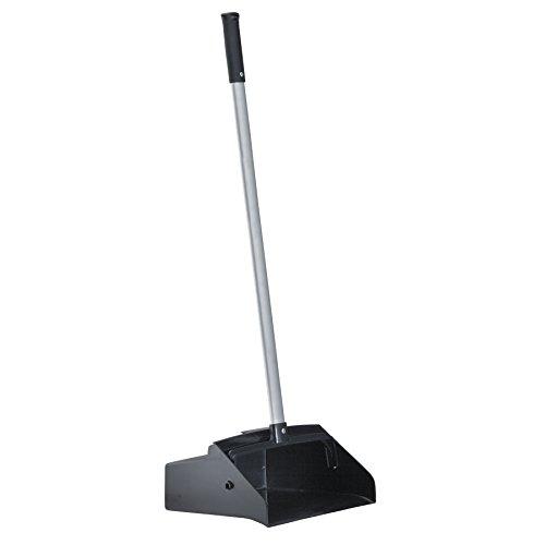 (Boardwalk BWK02600 Lobby Dust Pan, Plastic/Aluminum, 11 3/4