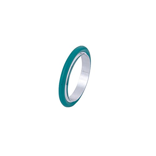 KF-40/ NW-40 Vacuum Fittings, Vacuum Center Ring Made of Aluminum, O-ring = FKM Viton ( lot of 10pcs, Color May Vary) by LAB OUTLET (Image #3)