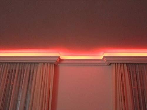 Profil/é d/éclairage LED 20 m Profil BL05 4 angles indirects