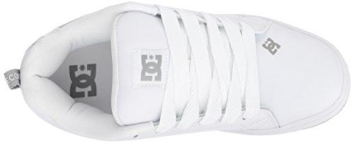 Uomo grey White Shoes Shoe Se Sneaker Mens grey Court Graffik Dc zw0qg88