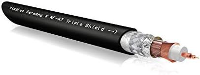 Viablue Nf A7 Triple Shield Cinchkabel Analogkabel Elektronik