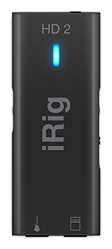 IK Multimedia 1 iRig HD 2 digital guitar interface for iPhone, iPad and Mac IP-IRIG-HD2-IN