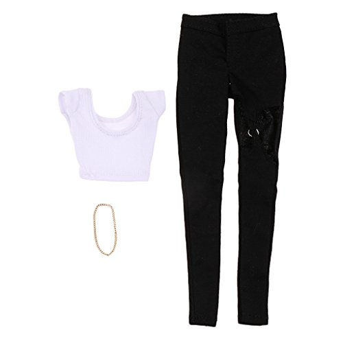 [해외]SunniMix 16 여성 바지 여성 의류 세트 12 ` ` HT Phicen 쿠 미 k 인형 / SunniMix 16 Female Trousers Women Clothing Set for 12`` HT Phicen Kumik Figures Doll