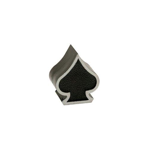Trik Topz Spade Valve Caps Pair Black